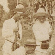 Filipino Equipment Philippine Army, Philippines, The Spanish American War, Filipiniana, Mindanao, Rough Riders, Vintage Pictures, Filipino, Historical Photos