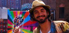 Eduardo Kobra e seus murais coloridos - Inspi