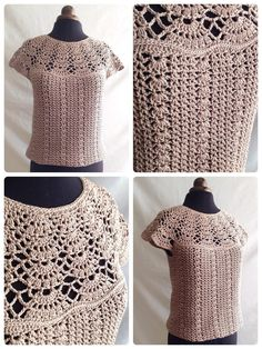 Blouse Crochet Pattern - Bellissa Tucked Hem Top - Hooked On PatternsBlouse crochet pattern - Bellissa: This cute top is designed to be a looser fit, with the hemline sitting above the hips. An elegant top for any occasion.Crochet patterns to wear: W Tunisian Crochet, Crochet Stitches, Free Crochet, Crochet Top, Crochet Birds, Crochet Bear, Crochet Animals, Knitting Patterns, Crochet Patterns