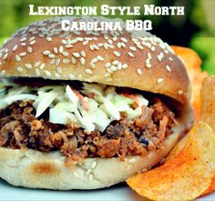 Old fashioned Lexington BBQ Burger for the true burger lover!
