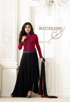 Pink Georgette Designer Salwar Kameez 35823