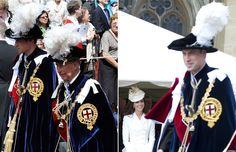 La complicidad de las damas de la realeza británica durante la tradicional ceremonia de la Orden de la Jarretera