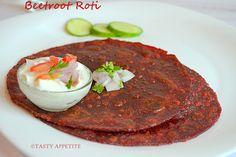 Beetroot Chapati
