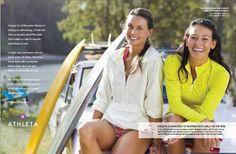 Athleta ad - so happy to have them as a national sponsor
