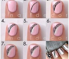 So fab and cute that anyone can work these nails! And they are very easy to create!