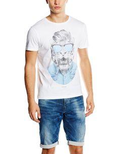 Japan Rags HTIBILLY00000MC - Camiseta Hombre: Amazon.es: Ropa y accesorios