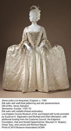 Robe a la Francaise- English