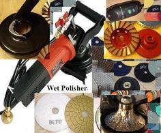 "Wet Polisher Grinder 1 1//4/"" Radius Bullnose Tile Stone Router Bit Pad Glaze Buff"