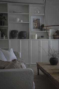Ikea Dining Room, Dining Room Design, Interior Design Living Room, Living Room Decor, Interior Design Inspiration, Home Decor Inspiration, Billy Oxberg, Billy Ikea, Ikea Interior