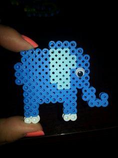 Perler Beads, small elephant