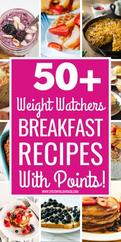 The ultimate BEST collection of 60 Weight Watchers Breakfast Recipes With Smart Points to make your weight watchers journey delicious and easy! These easy to make and delicious Weight Watchers breakfasts offer you the variety you'll crave when following a diet and make sticking to your Weight Watchers program a breeze. #weightwatchersrecipeswithpoints #weightwatchersmeals #weightwatchersbreakfast #weightwatchersbreakfastideas #weightwatchersbreakfastrecipeswithpoints…