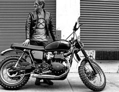 Jack Pine Triumph by Hammarhead. Probably toe coolest modern Bonnie ever?