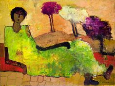 Glory of Life, painting, Goli-Mahallati