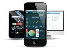 MyTelcare Diabetes Pal (Free 2-way cloud sync)