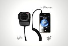 Transceiver for iPhone.