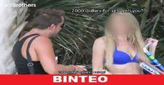 """Αυτός ο άντρας στο βίντεο πλησιάζει μια άγνωστη στο δρόμο ζητώντας της να """"το κάνουν"""" μαζί και η πρό..."""