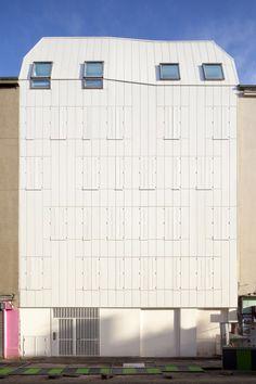 Wooden Housing Building / JTB.architecture © Cyrille Lallement
