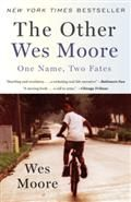 """The Other Wes Moore: One Name, Two Fates"" by Wes Moore. $9.75 for 10+ copies (35% off)."