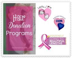 Find out about Hair Donation programs on MissiontoSave.com.