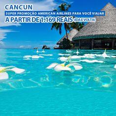 Promoção de passagem aérea para Cancun no México a partir de R$1.169 com a American Airlines.  https://www.passagemaerea.com.br/cancun-2015-american-airlines.html  #cancun #mexico #passagemaerea