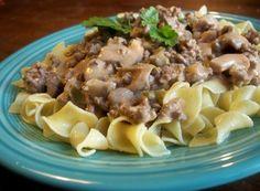 Beef Noodle Skillet