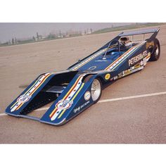 Herm Peterson's Can Am inspired Top Fuel Dragster circa 1973