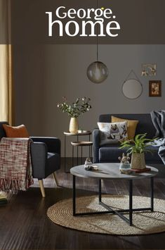 Take ideas and inspiration from our Wanderer trend and bring bold colours into your home with eclectic patterns and statement home accessories Living Room Designs, Living Room Decor, My Ideal Home, Autumn Home, Room Colors, House Rooms, Home Decor Accessories, Decoration, Diy Home Decor