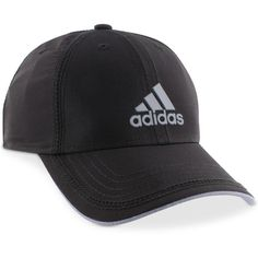 adidas Men's Contract Ii ClimaLite Cap ($22) ❤ liked on Polyvore featuring men's fashion, men's accessories, men's hats, black, mens caps, mens hats and mens caps and hats