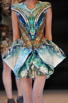 :: Alexander McQueen S/S 2010    I remember the exact moment I saw this collection (arguably one of my favorite collections ever). Literally had to pick my jaw up off the floor...the innovation is mind boggling! ::