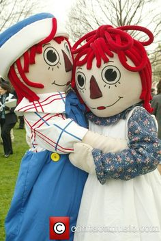 raggedy ann | Ann and Raggedy Andy at the annual White House Easter... | Raggedy Ann ...