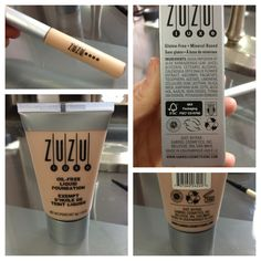 Gluten-Free Make-Up Review - Zuzu Luxe from Gabriel Cosmetics Inc. - Pretty Little Celiac @Sally Cook  they have this at whole foods