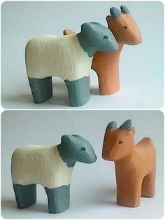 b for Bjørn: New animals!