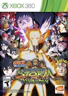 Naruto Shippuden Ultimate Ninja Storm Revolution  Xbox 360 -- Details can be found by clicking on the image. Note:It is Affiliate Link to Amazon.