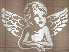 Thrilling Designing Your Own Cross Stitch Embroidery Patterns Ideas. Exhilarating Designing Your Own Cross Stitch Embroidery Patterns Ideas. Stitch And Angel, Cross Stitch Angels, Cross Stitch Charts, Cross Stitch Designs, Cross Stitch Patterns, Crochet Angel Pattern, Crochet Angels, Crochet Cross, Filet Crochet