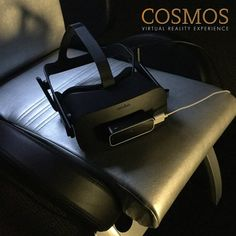 Experience the latest technology in the Cosmos #VirtualReality Experience. #Nashville #EscapeExpNash