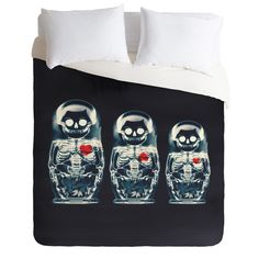 Ali Gulec Nesting Doll Duvet Cover | DENY Designs Home Accessories