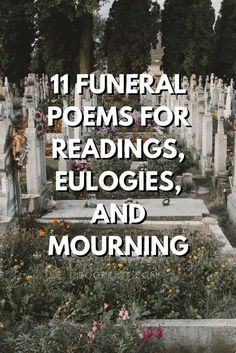 Grief may be universal, but all of us struggle to express our love and emotions to the deceased. Funeral poems and mourning poems can help a great deal. Funeral Quotes, Funeral Songs, Funeral Prayers, Funeral Ideas, Eulogy Quotes, Funeral Eulogy, Funeral Cards, Eulogy Examples, Sympathy Quotes