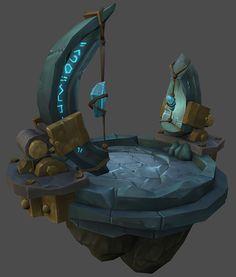 Vrykul Building Model Warcraft