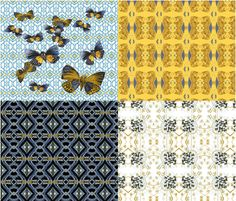 Butterfly_Comp_V fabric by syaadesigns on Spoonflower - custom fabric