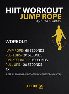 You don't need to be a professional jump roper to do this hiit workout. JUST JUMP ROPE!