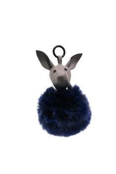 Pin for Later  You ll Want to Buy Every Single Item From Kendall and Kylie s  New Handbag Collection Bambi Leather   Faux Fur Keychain ( 95) d8f7f6fa48