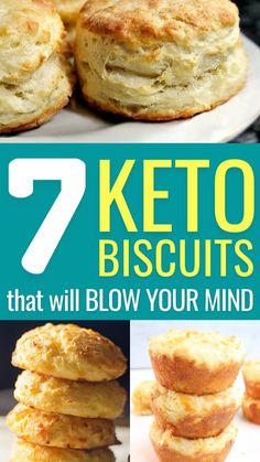 Keto Biscuits, Breakfast Biscuits, Cheese Biscuits, Ketogenic Recipes, Low Carb Recipes, Ketogenic Diet, Ketogenic Lifestyle, Easy Recipes, Healthy Recipes