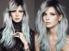 Celebrities y chicas en todo el mundo están tiñendo su cabello de gris, ¿a favor o en contra?