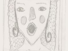 She tried and tried, but she couldn't breathe. My Doodle, Breathe, Doodles, Draw, Drawings, Painting, To Draw, Donut Tower, Drawing