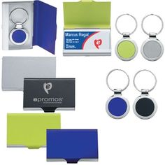 A keytag tucked inside a #custom business card holder makes a great two-in-one gift. #epromos