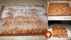 Rumcajz – najrýchlejší orechový koláč z hrnčeka: Keď je sezóna jabĺk a orechov, musí byť na stole každý týždeň! Banana Bread, Food And Drink, Treats, Baking, Rum, Sweet, Ethnic Recipes, Cakes, Basket