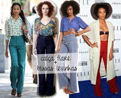 4 ideia para usar calça de cintura alta