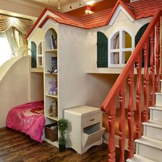 A playhouse you can live in for you daughters.