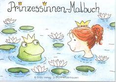 Prinzessinnen Mini Malbuch