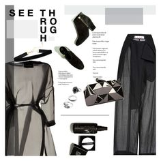 """See Through"" by idonthavebrains ❤ liked on Polyvore featuring Marni, Valentino and WithChic"